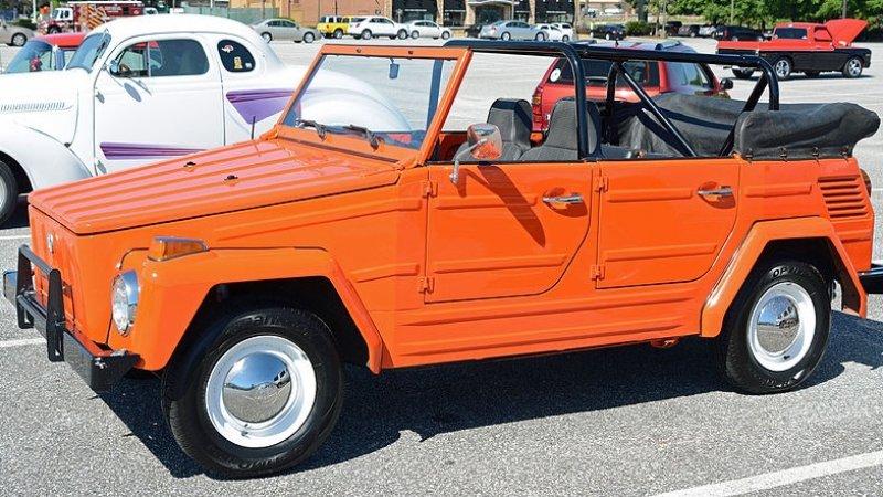 Kübelwagen - Volkswagen Safari